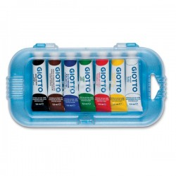 Tubetti tempera giotto 7,5 ml  conf. 7 pz