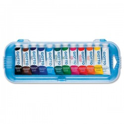 Tubetti tempera giotto 7,5 ml  conf. 12 pz