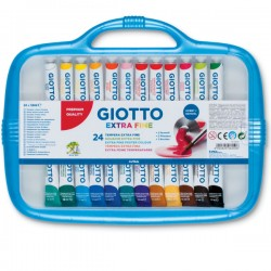 Tubetti tempera giotto 7,5 ml  conf. 24 pz