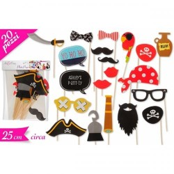 Accessori Stick Foto Party Pirati