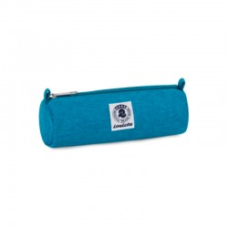 Astuccio portapenne invicta pencil bag plain tombolino azzurro