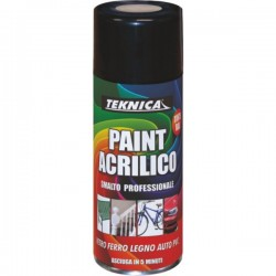 Vernice paint spray acrilici rapida essiccazione 400 ml