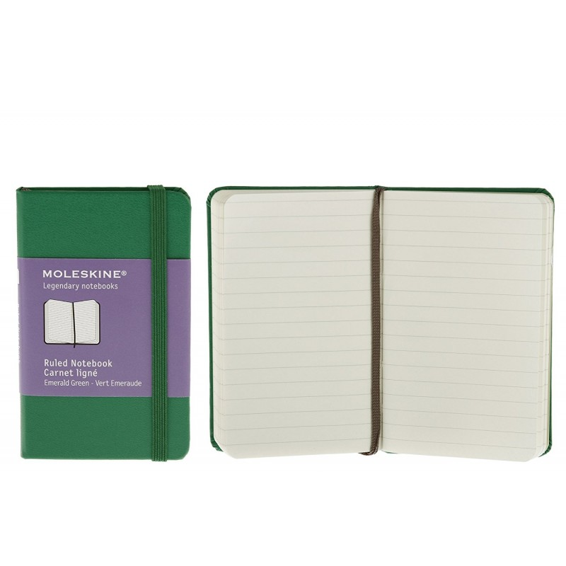 Plain Notebook Moleskine xs Legendary Verde 6.5x10.5cm