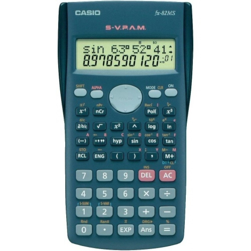 Calcolatrice scientifica casio fx-82ms