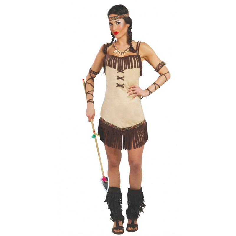 Costume indiana donna vestito carnevale india