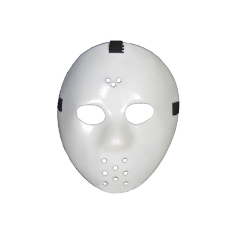Maschera hockey bianca halloween jason voorhees