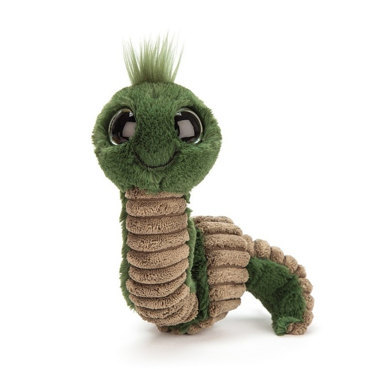Peluche Bruco Wiggly Worm Jellycat 16 cm