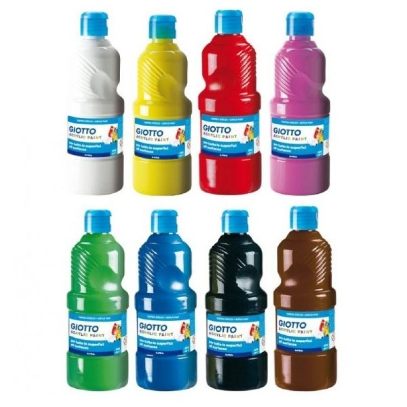 Tempera Giotto Pronta  500 ml Conf. 1 pz
